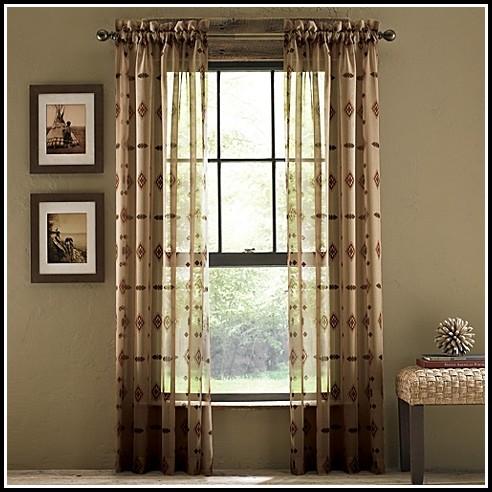 63 Inch Semi Sheer Curtains