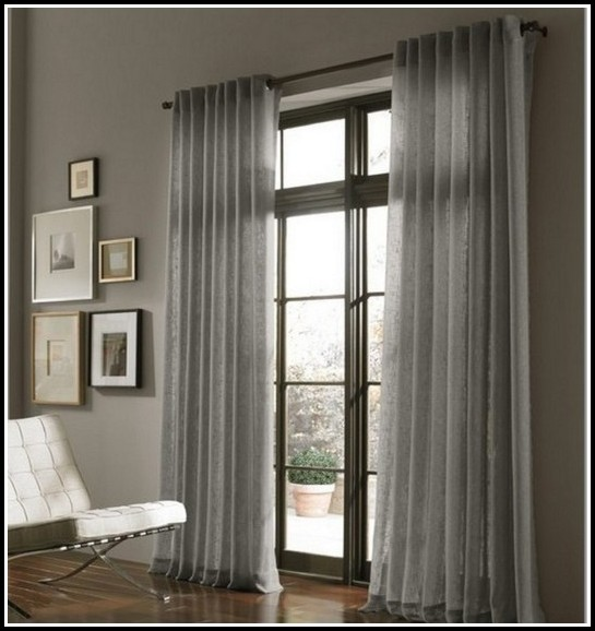 63 Inch Sheer Window Curtains