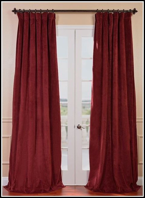 96 Inch Blackout Curtain Panels