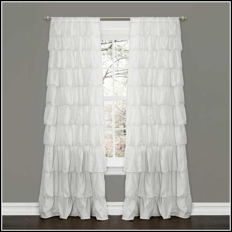 96 Inch Blackout Curtains White