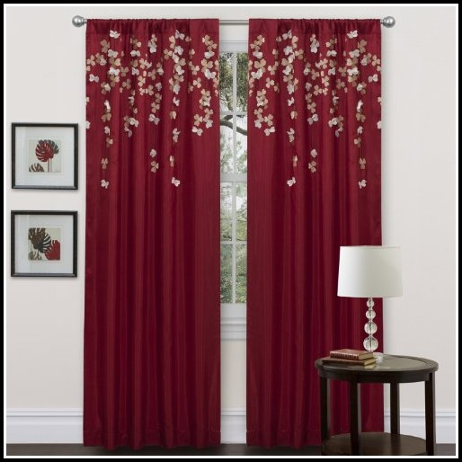 96 Inch Ivory Blackout Curtains
