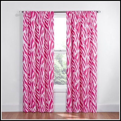 96 Inch Pink Blackout Curtains