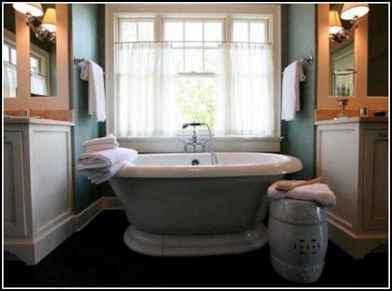 Bathroom Window Curtain Ideas Pinterest