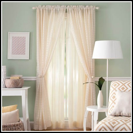 Better Homes And Gardens Curtains Cortina Transparente
