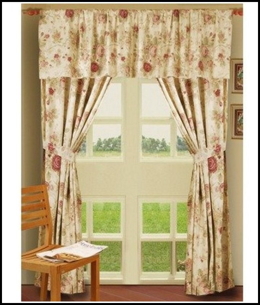 Better Homes And Gardens Curtains Red Check