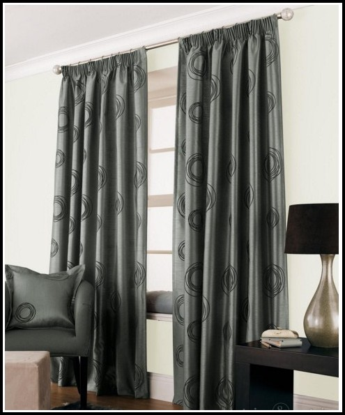 Black And Silver Curtains Uk