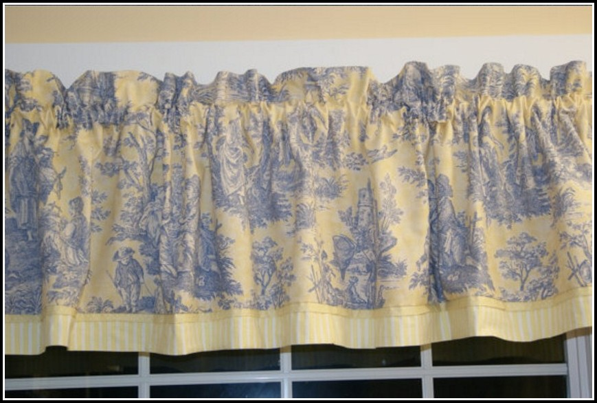 Blue And Yellow Curtains Uk