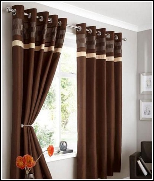Brown And Gold Shower Curtains