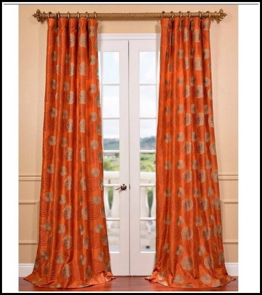 Burnt Orange And Brown Curtains