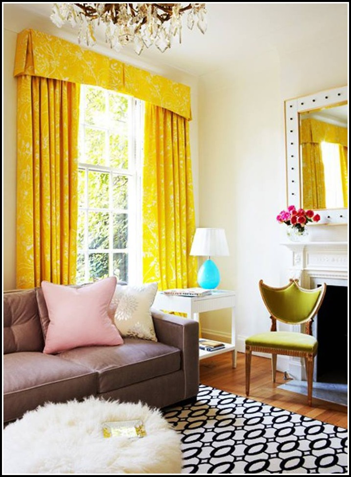 Curtain Ideas For Living Room 2013