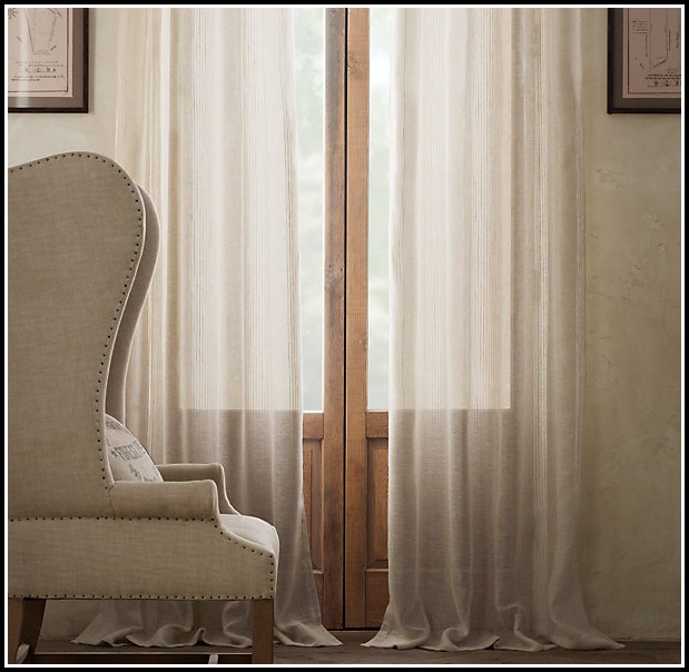 Extra Long Black Sheer Curtains
