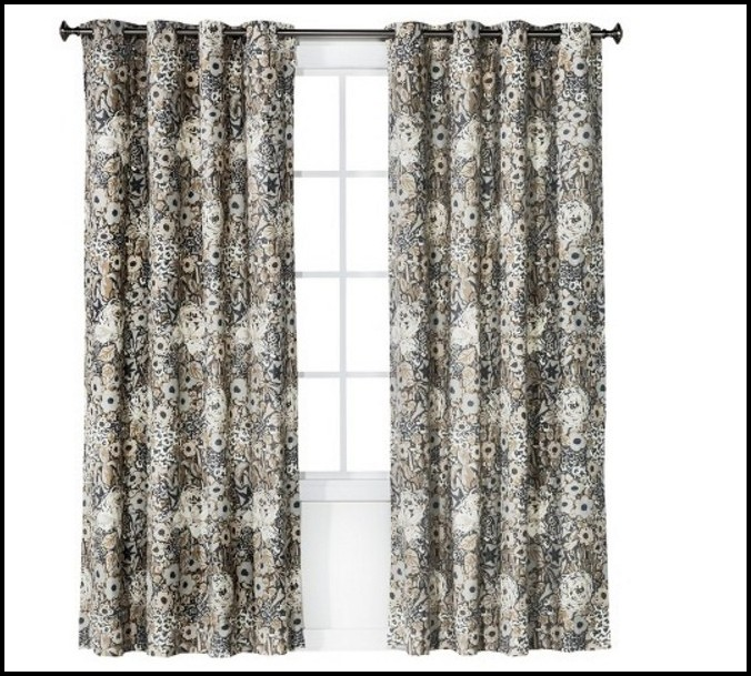 Gray And White Curtains Pinterest
