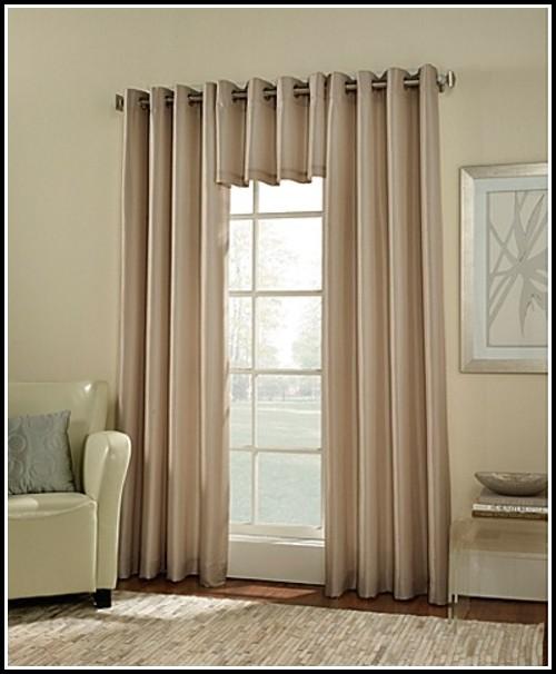 Grommet Room Darkening Curtain Panels