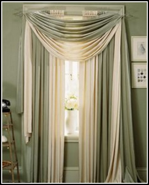 Hanging Curtains With A Valance