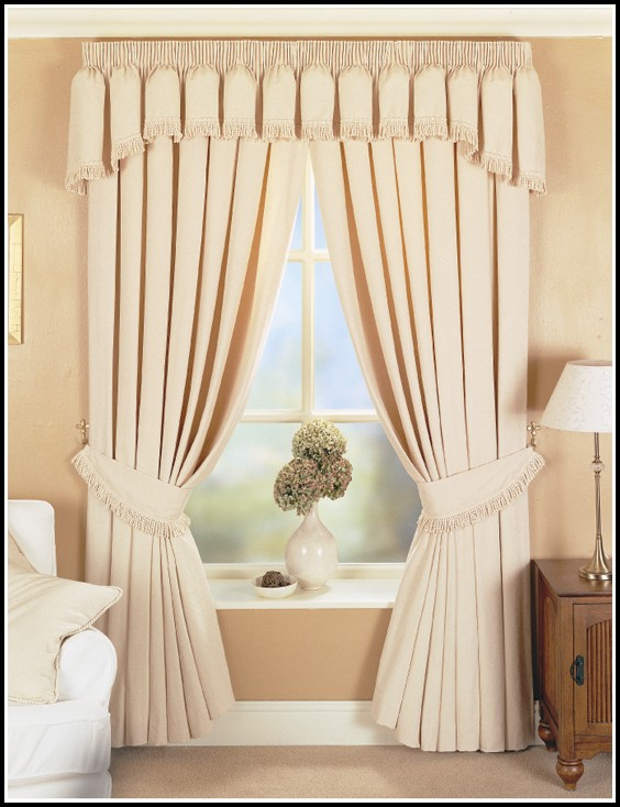 Kitchen Curtains For Wide Windows
