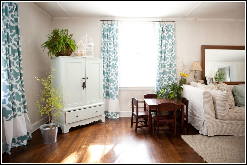 Large Living Room Window Curtains
