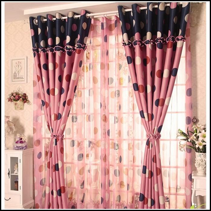 Pink Polka Dot Curtains Canada
