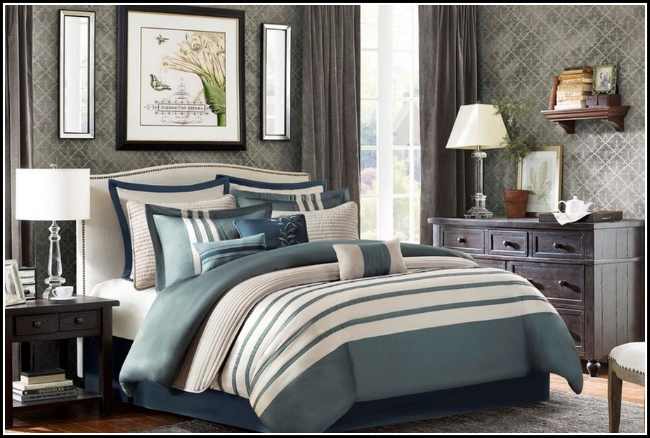 Queen Size Comforter Sets With Curtains
