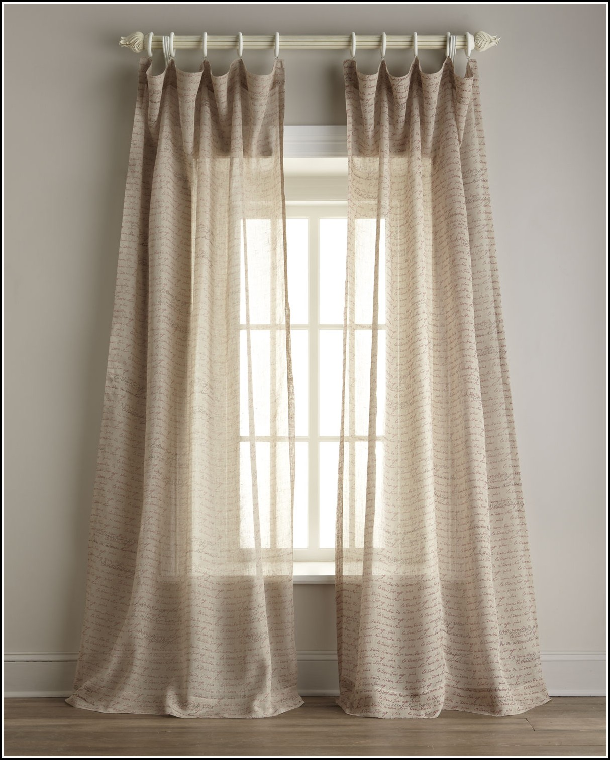 Sheer Linen Fabric For Curtains