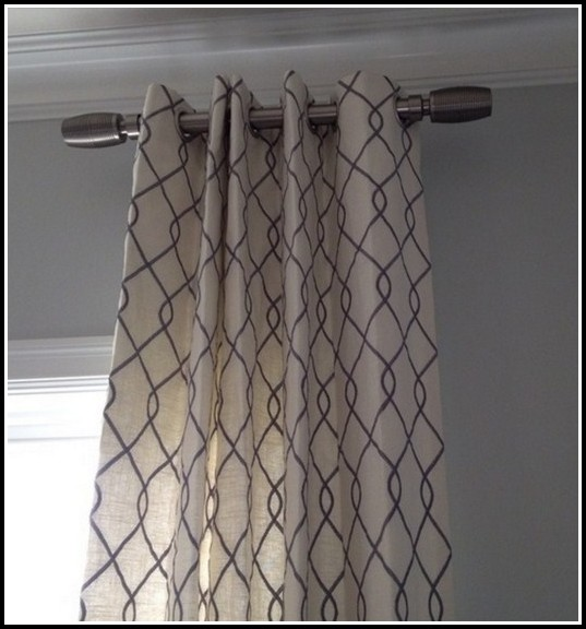 Short Curtain Rods For Decoration