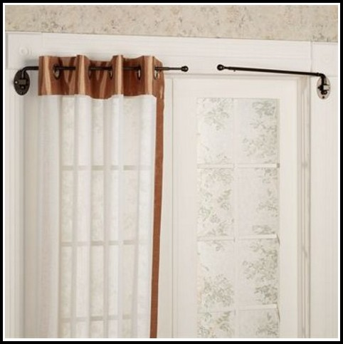 Short Swing Out Curtain Rods