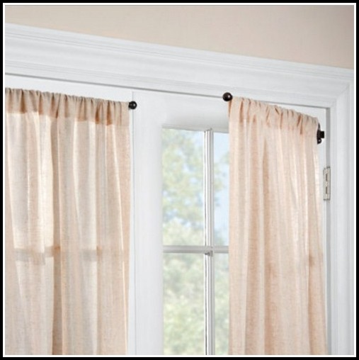 Swing Arm Curtain Rods For French Doors