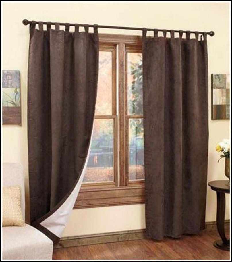 Tab Top Insulated Window Curtain