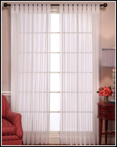 Tab Top Sheer Curtains Nz