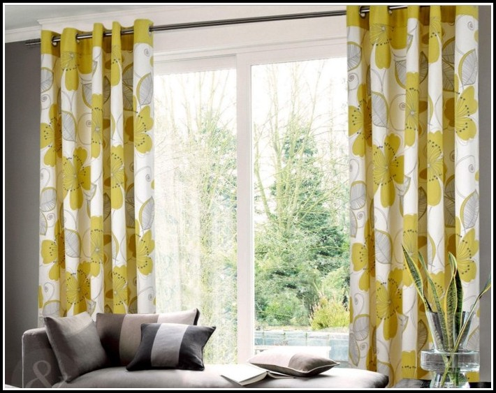 White And Yellow Nursery Curtains
