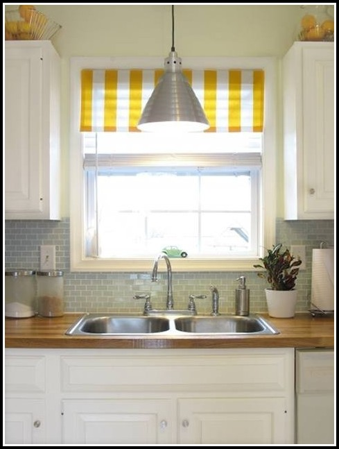 White And Yellow Shower Curtains
