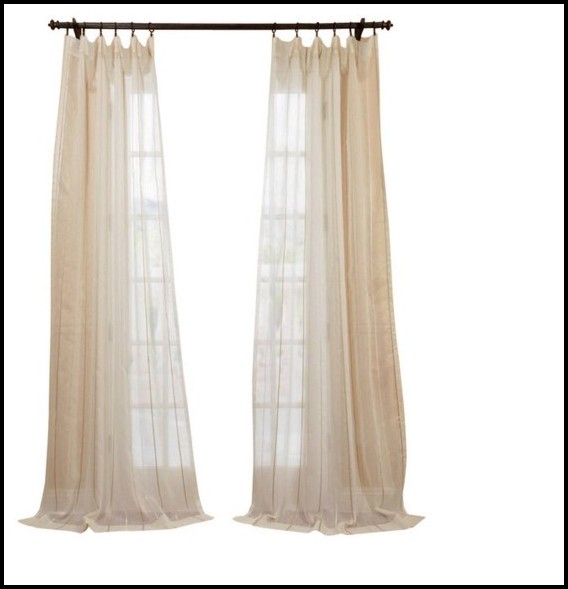 White Linen Fabric For Curtains