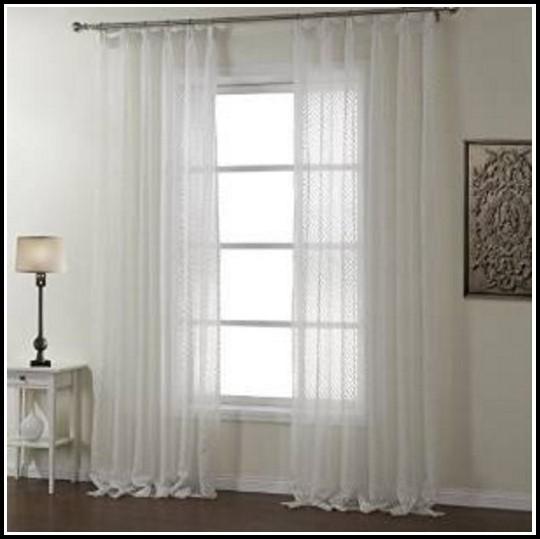 White Tab Top Curtains Australia