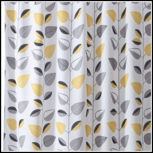 Yellow And Grey Curtains Target