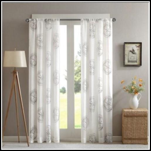 108 Inch Grommet Curtain Panels