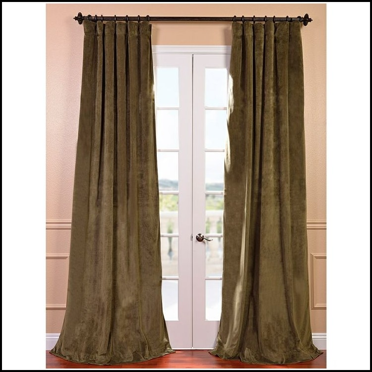 120 Inch Blackout Curtain Panel