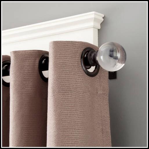 24 Inch Bronze Shower Curtain Rod
