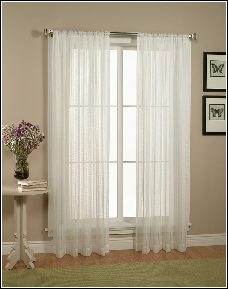 45 Inch Long Cafe Curtains