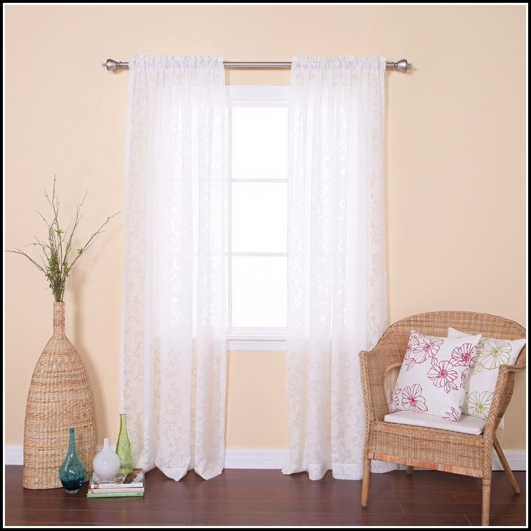 45 Inch Long Insulated Curtains