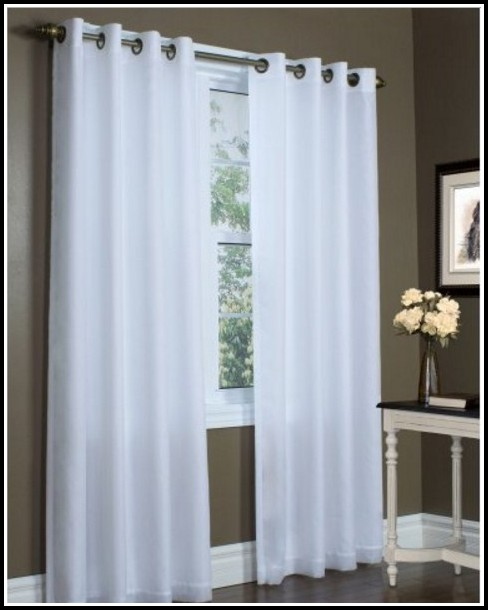 45 Inch Long Sheer Curtains