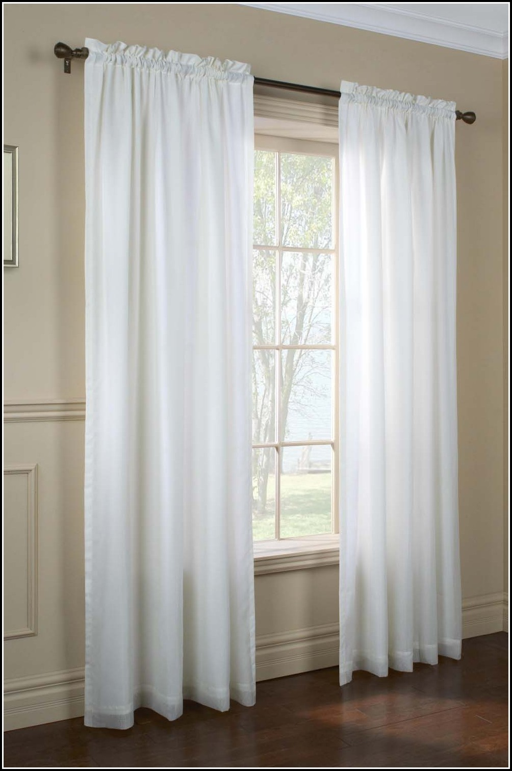 72 Inch Long Sheer Curtains