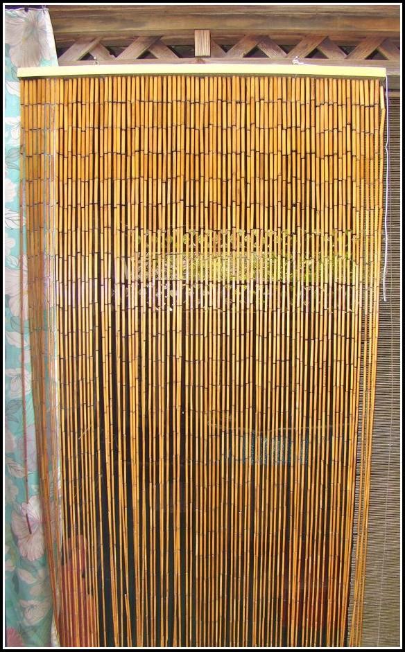 Bamboo Beaded Door Curtains Australia