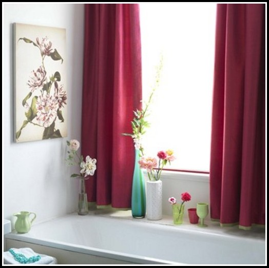 Bathroom Curtains For Small Windows Uk