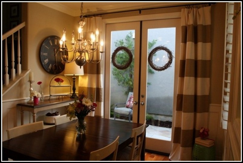 Black And Brown Kitchen Curtains