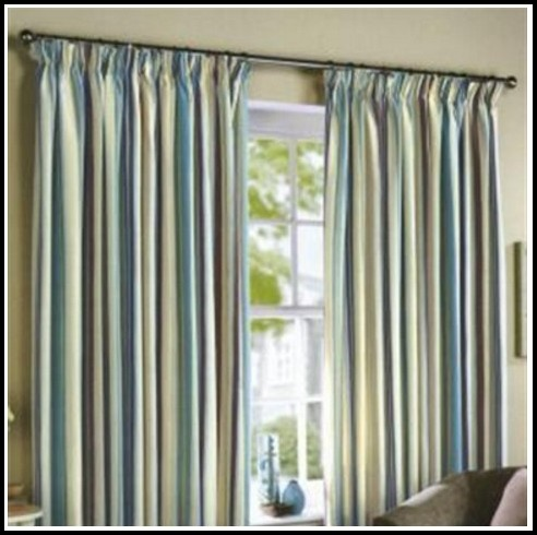 Black And Duck Egg Blue Curtains
