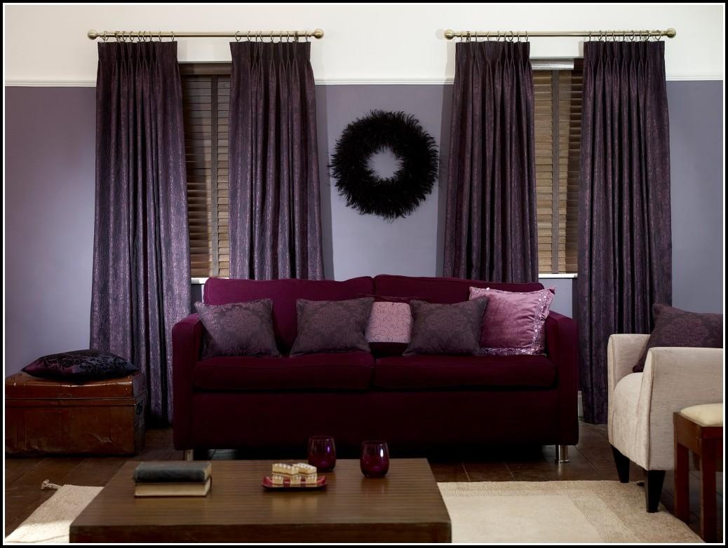 Black And Purple Zebra Curtains