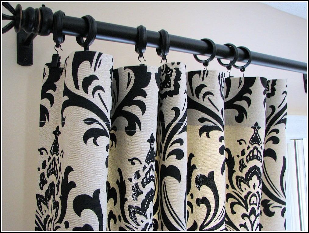 Black And White Curtains For Bathroom