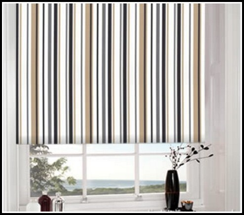 Black White And Brown Curtains