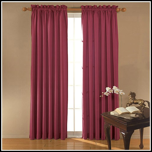 Blackout Curtains For Short Wide Windows