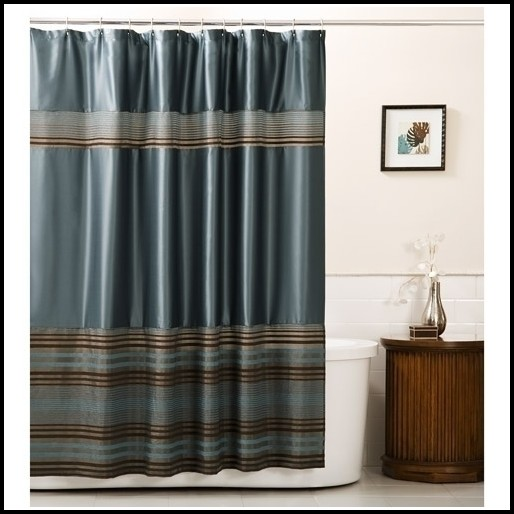 Blue And Brown Curtains Walmart