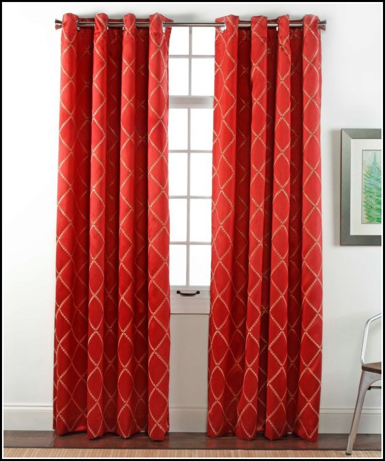 Bradley Grommet Top Blackout Curtain Panel